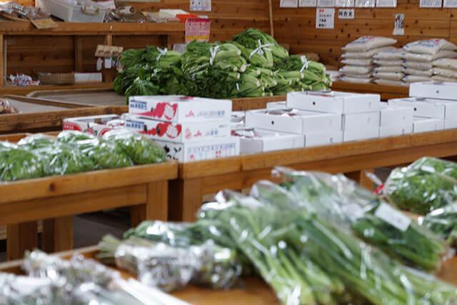 赤村の新鮮野菜
